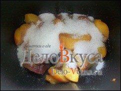 Джем из персиков или абрикосов в хлебопечке: фото к шагу 2