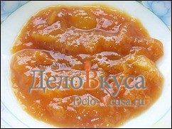 Джем из персиков или абрикосов в хлебопечке: фото к шагу 4