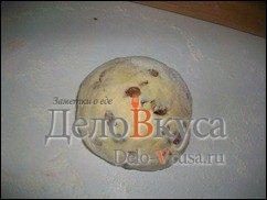 Творожные печенья с изюмом. Простое печенье с творогом и изюмом: фото к шагу 7