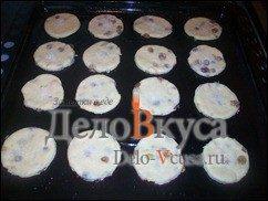 Творожные печенья с изюмом. Простое печенье с творогом и изюмом: фото к шагу 10.
