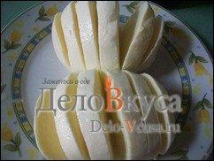 Закуска из помидор и сыра Моцарелла: фото к шагу 2.