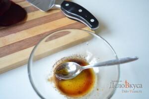 Гарнир из вареной свеклы с заправкой из горчицы, бальзамического уксуса и оливкового масла: фото к шагу 2.
