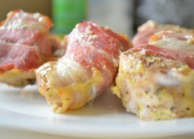 Куриное филе в беконе, рецепт
