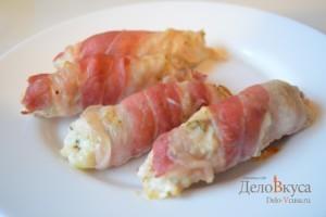 Рулетики из бекона – кулинарный рецепт