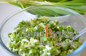 Салат из черемши с огурцами