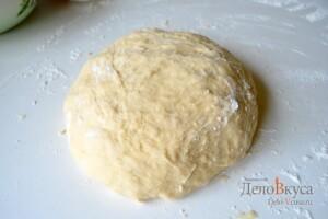 Пирожки с мясом и картошкой в духовке: фото к шагу 21