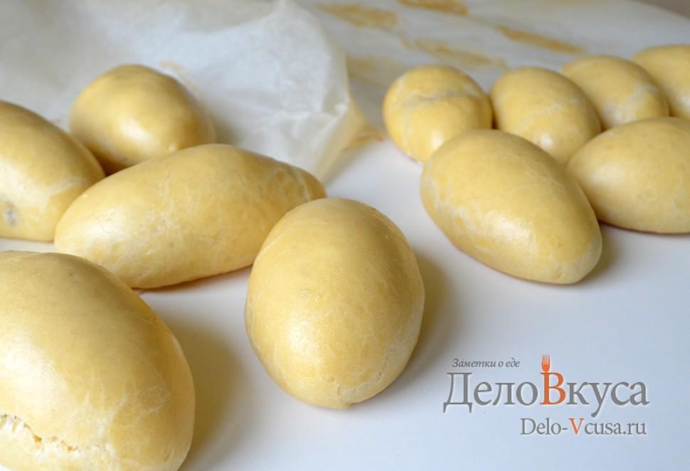 пирожки с дрожжевого теста с картошкой в духовке