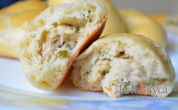 Рецепт пирожки с мясом и картошкой в духовке