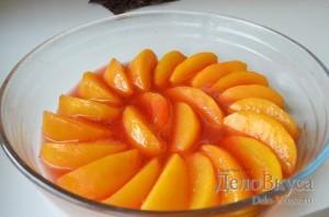 Карамелезированные персики