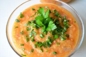 Кабачковая икра с помидорами: фото к шагу 17.