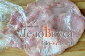 Отбивные в духовке: Мясо отбить