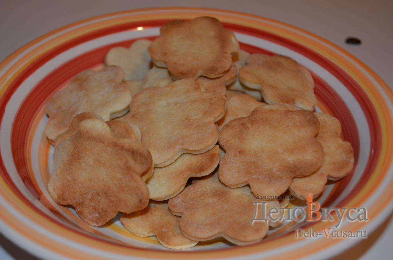 Домашнее печенье на сметане: рецепт с фото | Чудо-Повар | 912x1378