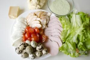 Пицца Цезарь: Ингредиенты