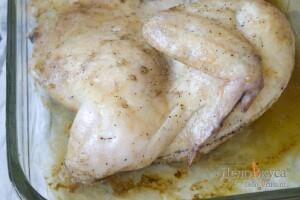 Курица в духовке целиком: Запекаем курицу до полуготовности