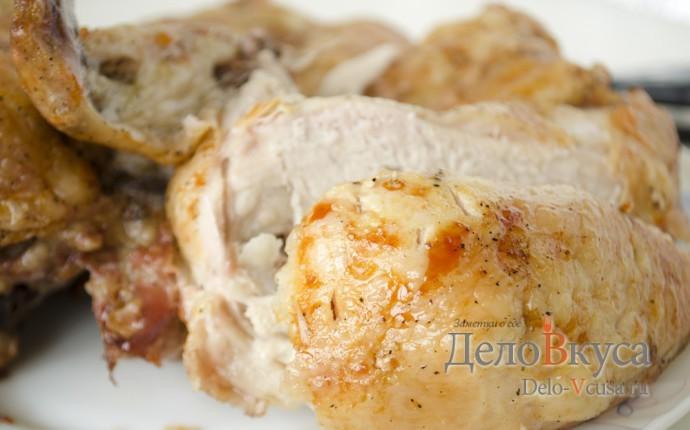 рецепты запеченной курицы в духовке целиком с фото