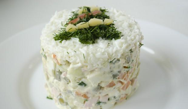 классическая оливье рецепт