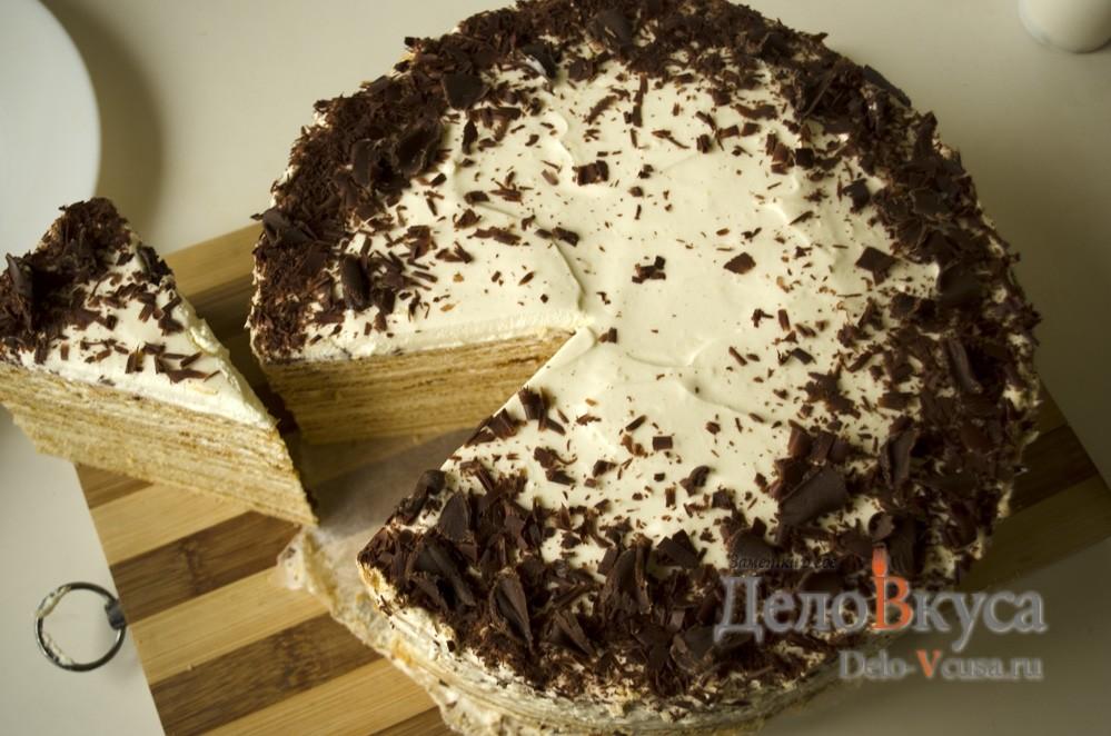 Торт с сметанным кремом пошаговый рецепт с 132