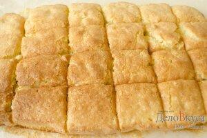 Лимонный пирог: Разрезать пирог