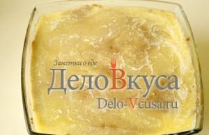 Печеночный паштет: Полить паштет сливочным маслом