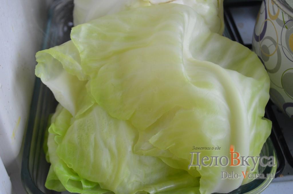 как подготовить листья капусты для голубцов