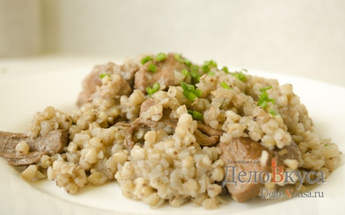 Рецепт гречка с тушеной свининой. гречневая каша с тушеным мясом