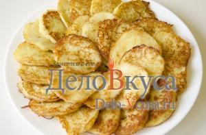 Готовые драники из картошки