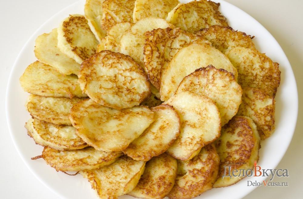 Драники из картошки без лука