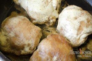 Запеченные куриные бедрышки в соевом соусе: фото к шагу 11.