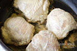 Запеченные куриные бедрышки в соевом соусе: фото к шагу 12.
