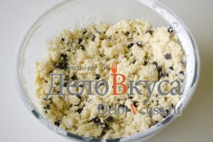 Печенье с кокосовой стружкой и шоколадом: Замешиваем тесто