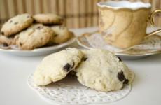Печенье с кокосовой стружной и шоколадными каплями