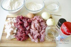 Рецепт домашних пельменей с мясом: Ингредиенты