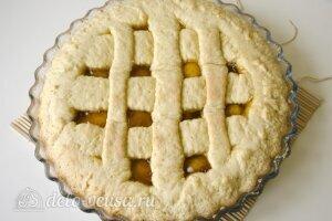 Открытый пирог с джемом: Украсить пирог