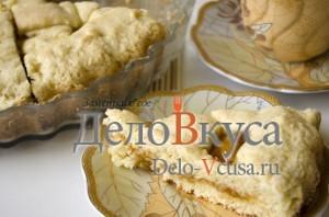 Открытый пирог с джемом