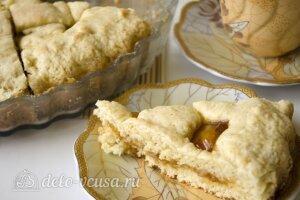Открытый пирог с джемом: Запекаем пирог