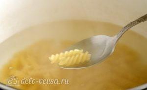 Паста со шпинатом и рикоттой (Fusilli agli spinaci e ricotta): фото к шагу 5.