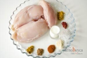 Курица тандури: Ингредиенты
