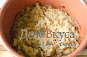 Телятина (Говядина) с картошкой в горшочке: фото к шагу 5.