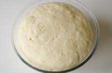Дрожжевое сдобное тесто для пиццы