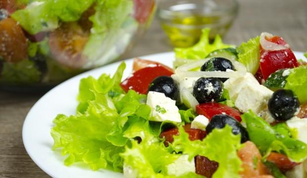 Греческий салат рецепт классический с пошаговыми фото