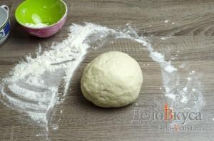 Манты: Замешиваем мягкое эластичное тесто