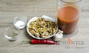 Манты: Ингредиенты для соуса
