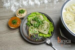 Манты: Сервируем блюдо по вкусу