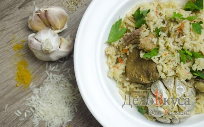 Плов в мультиварке: фото блюда приготовленного по данному рецепту