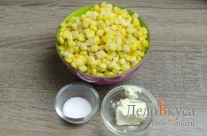 Кукуруза в мультиварке: Ингредиенты