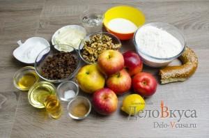 Штрудель с яблоками: Ингредиенты