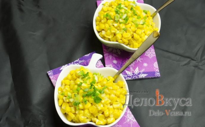 Вареная кукуруза в мультиварке в зернах