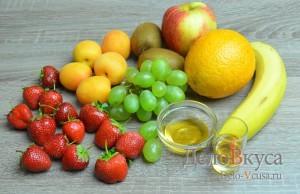 Фруктовый салат: Ингредиенты