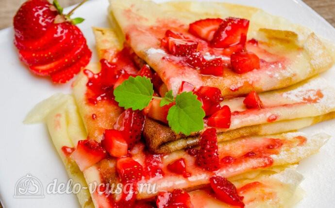 Блины на кефире - Вкусный рецепт тонких блинов на кефире