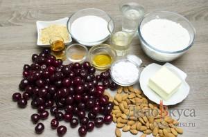 Штрудель с вишней: Ингредиенты